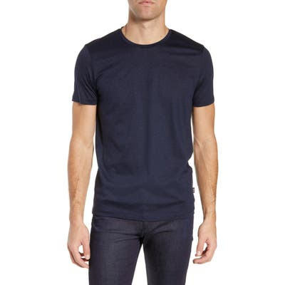Boss Tessler Slim Fit Crewneck T-Shirt, Blue