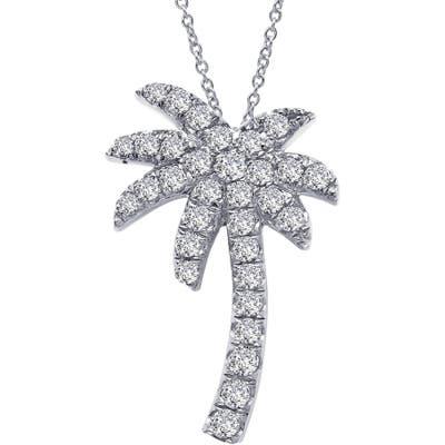 Lafonn Palm Tree Simulated Diamond Pendant Necklace
