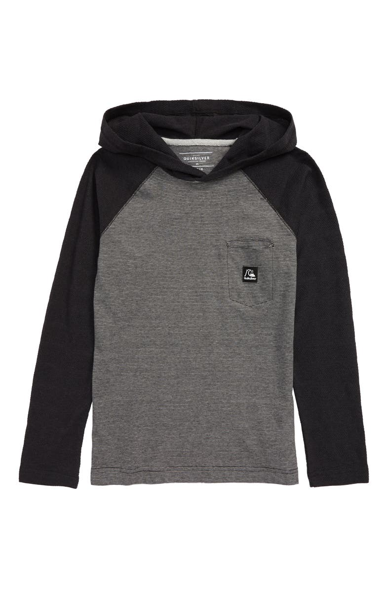 QUIKSILVER Michi Hooded Shirt, Main, color, 020