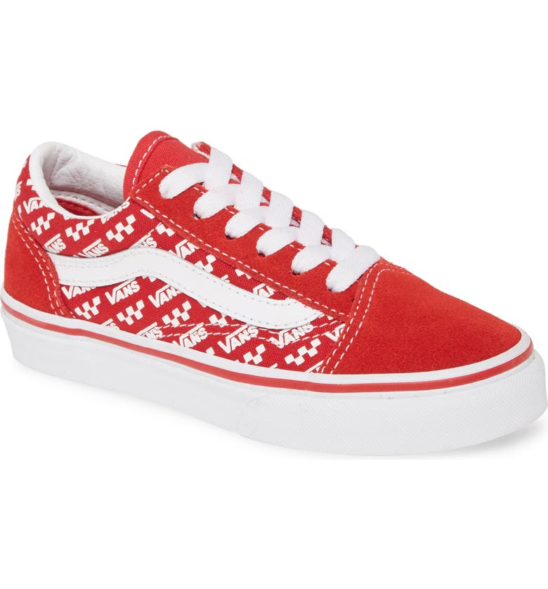 VANS 'Old Skool' Skate Sneaker, Main, color, RACING RED/ TRUE WHITE