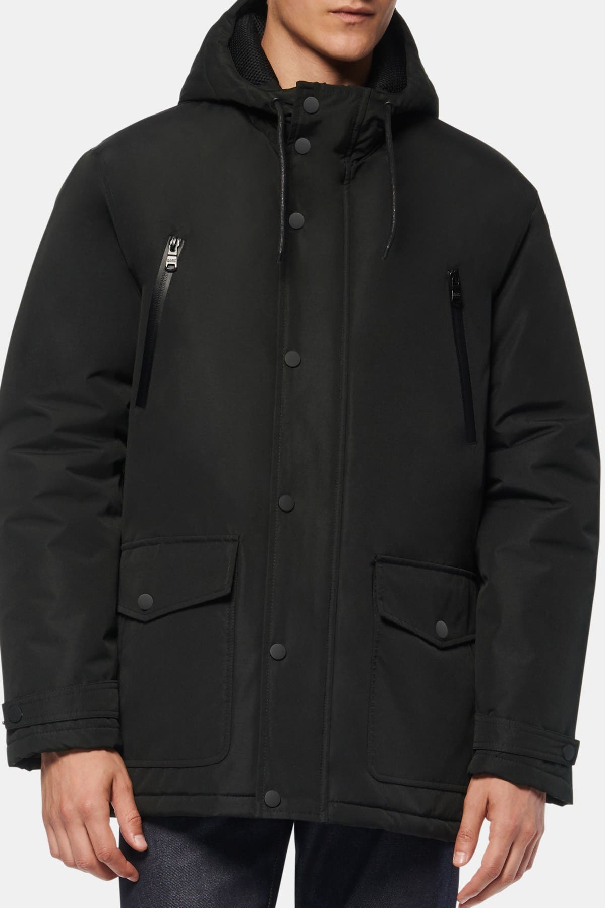 Image of Andrew Marc Milton Hooded Parka