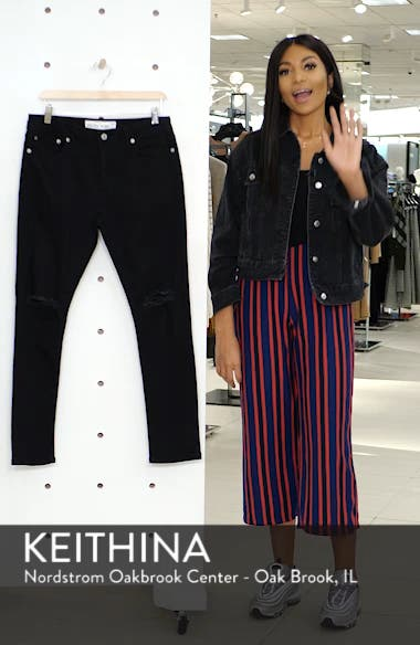 Double Ripped Skinny Fit Jeans, sales video thumbnail