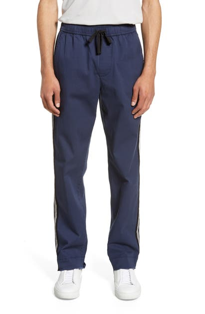 Atm Anthony Thomas Melillo Pants SLIM FIT STRIPE TRACK PANTS
