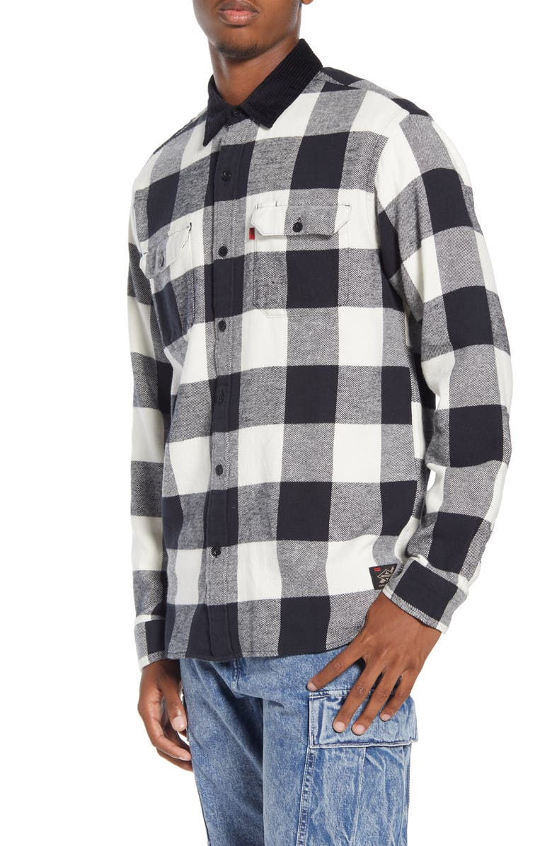 X Justin Timberlake Regular Fit Button Up Plaid Flannel Worker Shirt by Levi's®