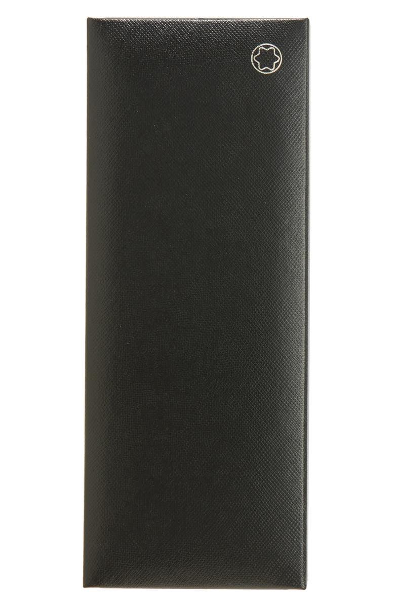 MONTBLANC Meisterstück Platinum Coated Classique Rollerball Pen, Main, color, BLACK