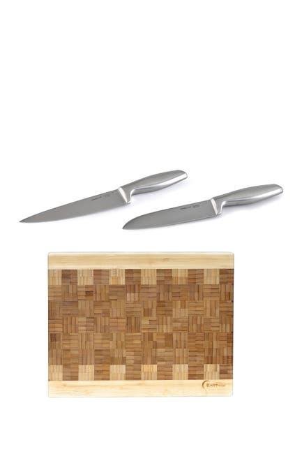 Image of BergHOFF Geminis 3-Piece Cutlery & Board Set