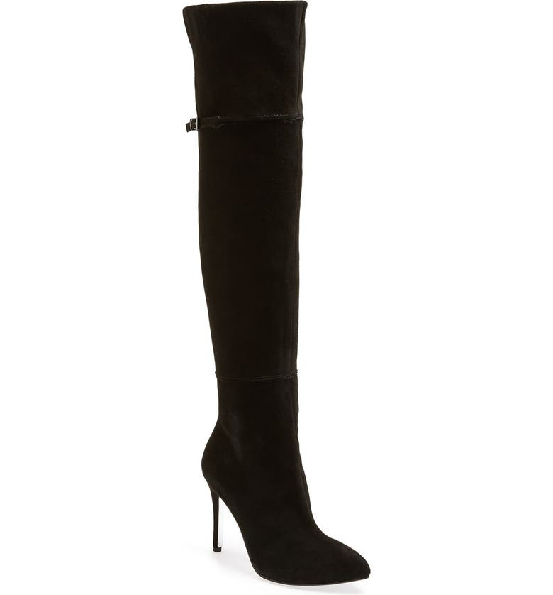 KRISTIN CAVALLARI 'Cassie' Over the Knee Boot, Main, color, 001