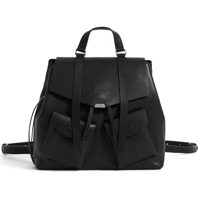 Allsaints Captain Leather Backpack - Black