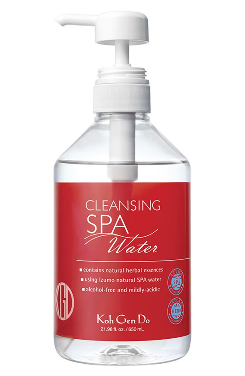 KOH GEN DO Cleansing Spa Water, Main, color, 000