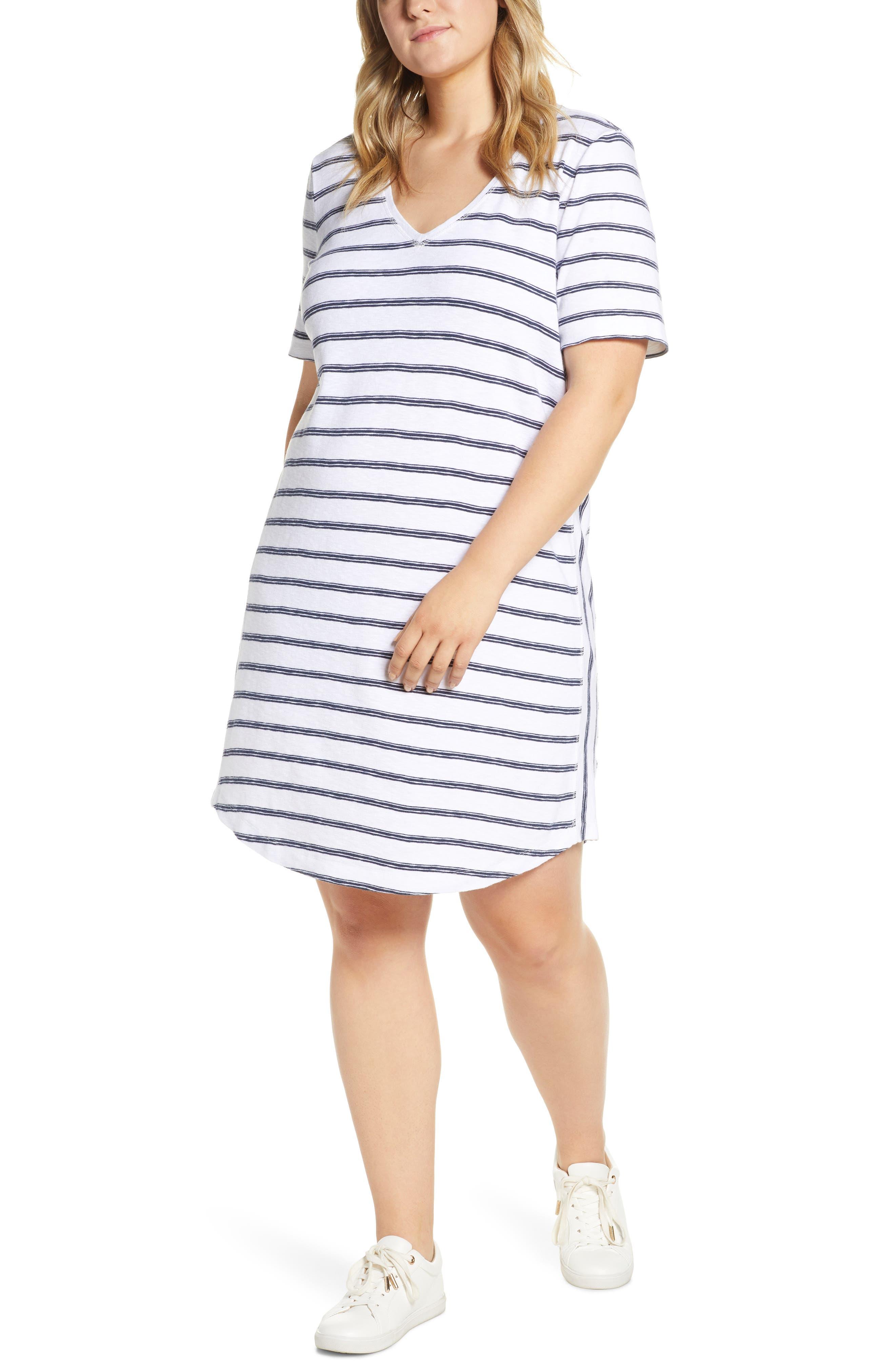 ,                             Slub Knit Dress,                             Main thumbnail 18, color,                             100