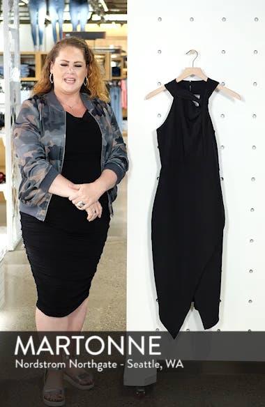 Twist Front Asymmetrical Cocktail Dress, sales video thumbnail