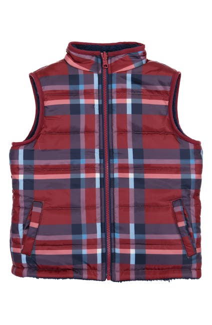 Image of Andy & Evan Reversible Fleece Puffer Vest