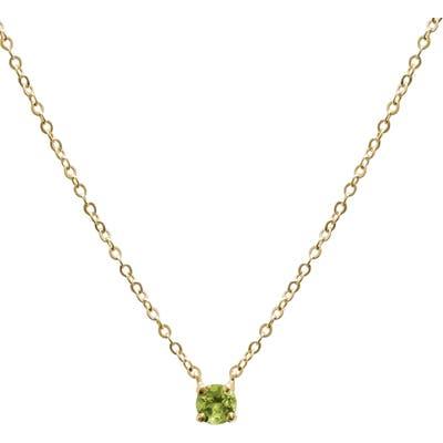 Jane Basch Designs Birthstone Pendant Necklace