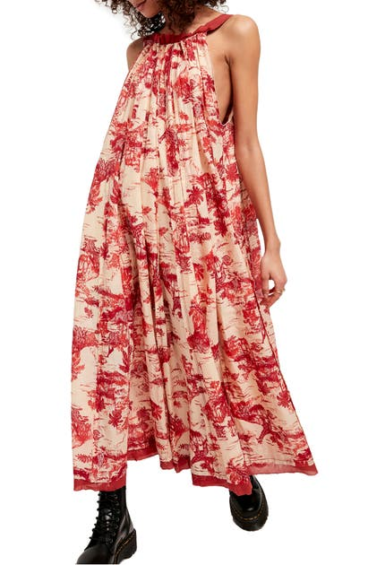 FREE PEOPLE TROPICAL TOILE DRESS