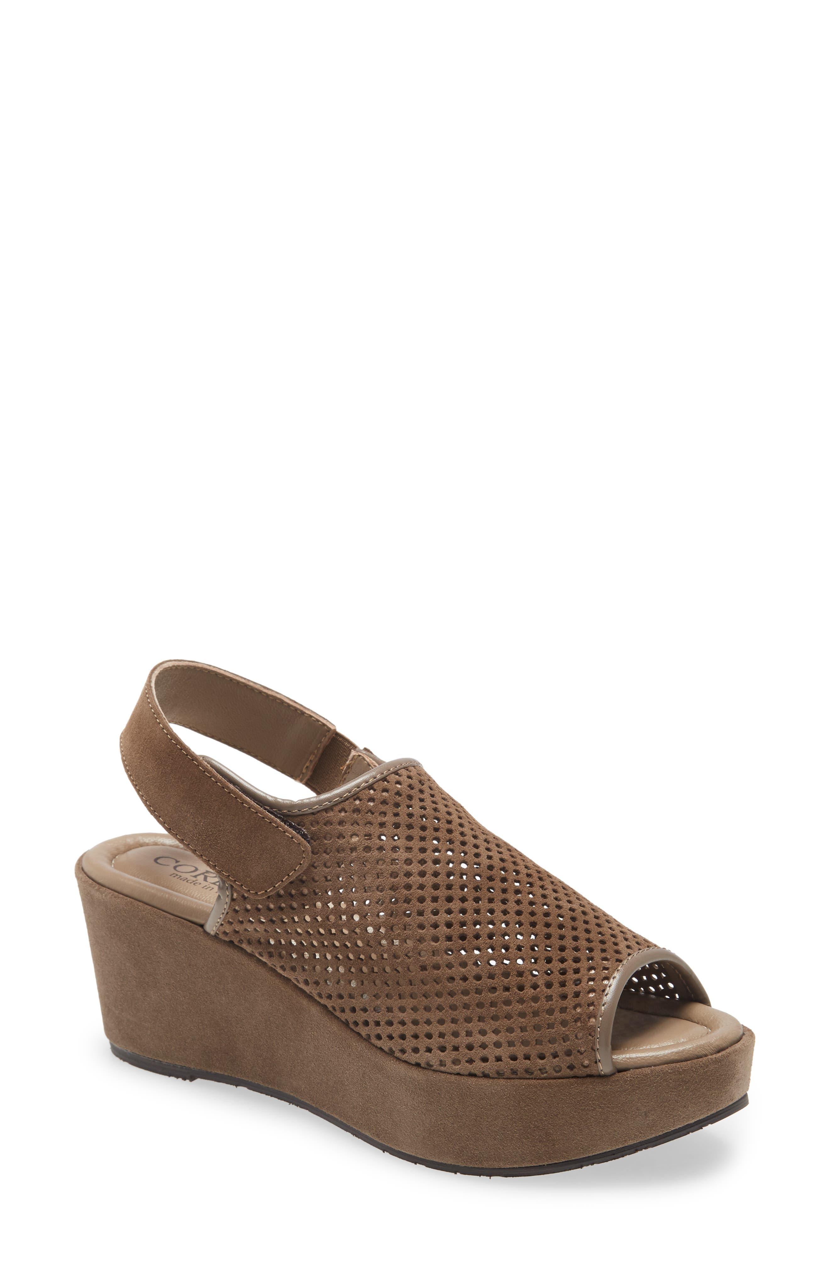 Daria Platform Wedge Sandal