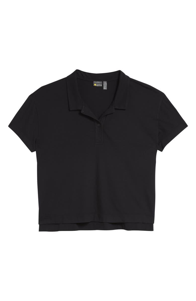 ZELLA Hike It Polo Shirt, Main, color, 001
