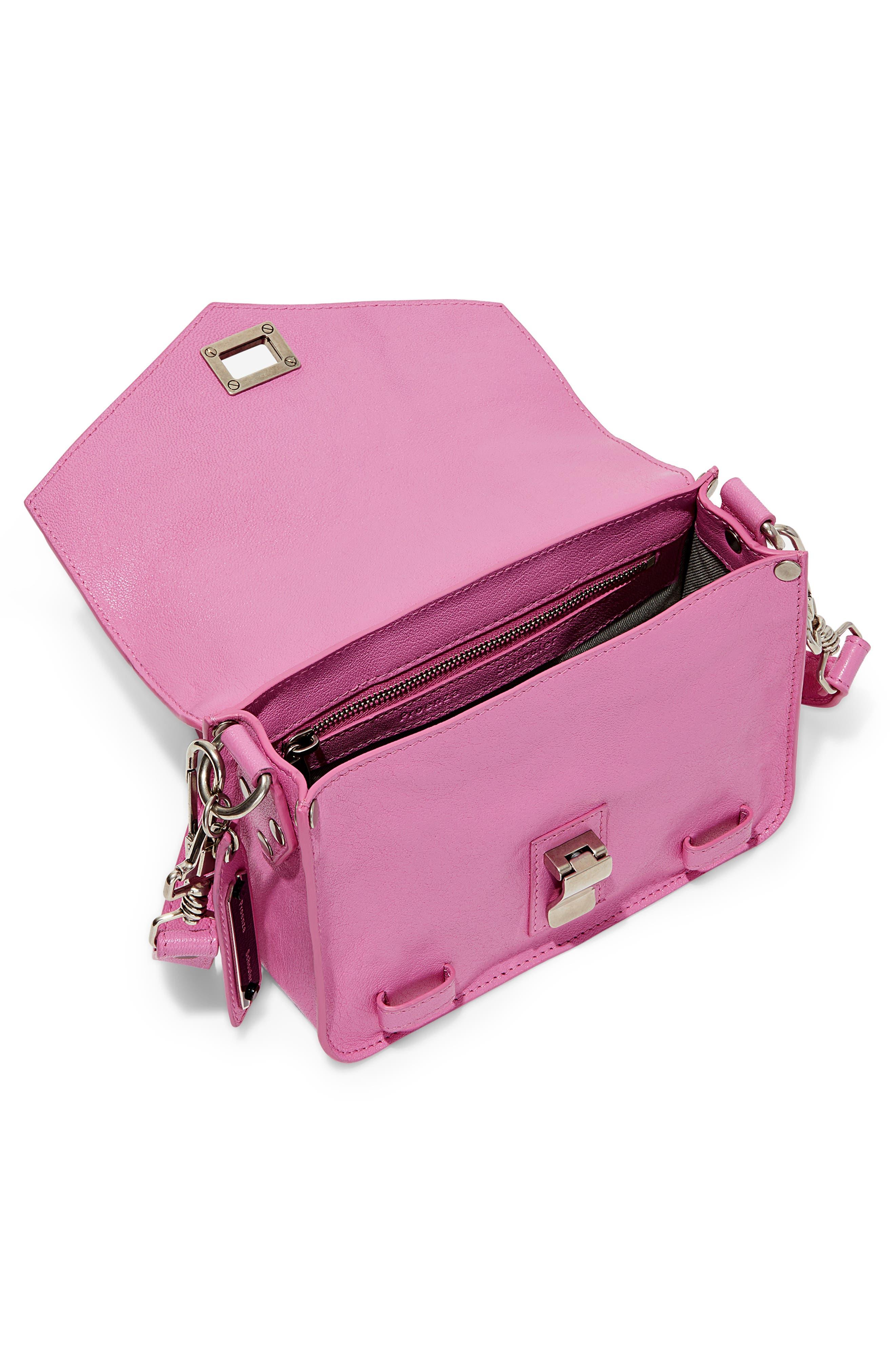 ,                             'Mini PS1' Lambskin Leather Crossbody Bag,                             Alternate thumbnail 9, color,                             652