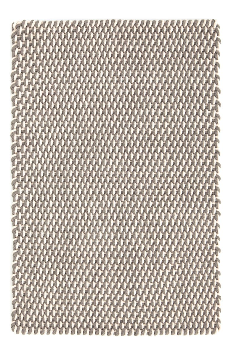 DASH & ALBERT Woven Rope Rug, Main, color, FIELDSTONE/ IVORY