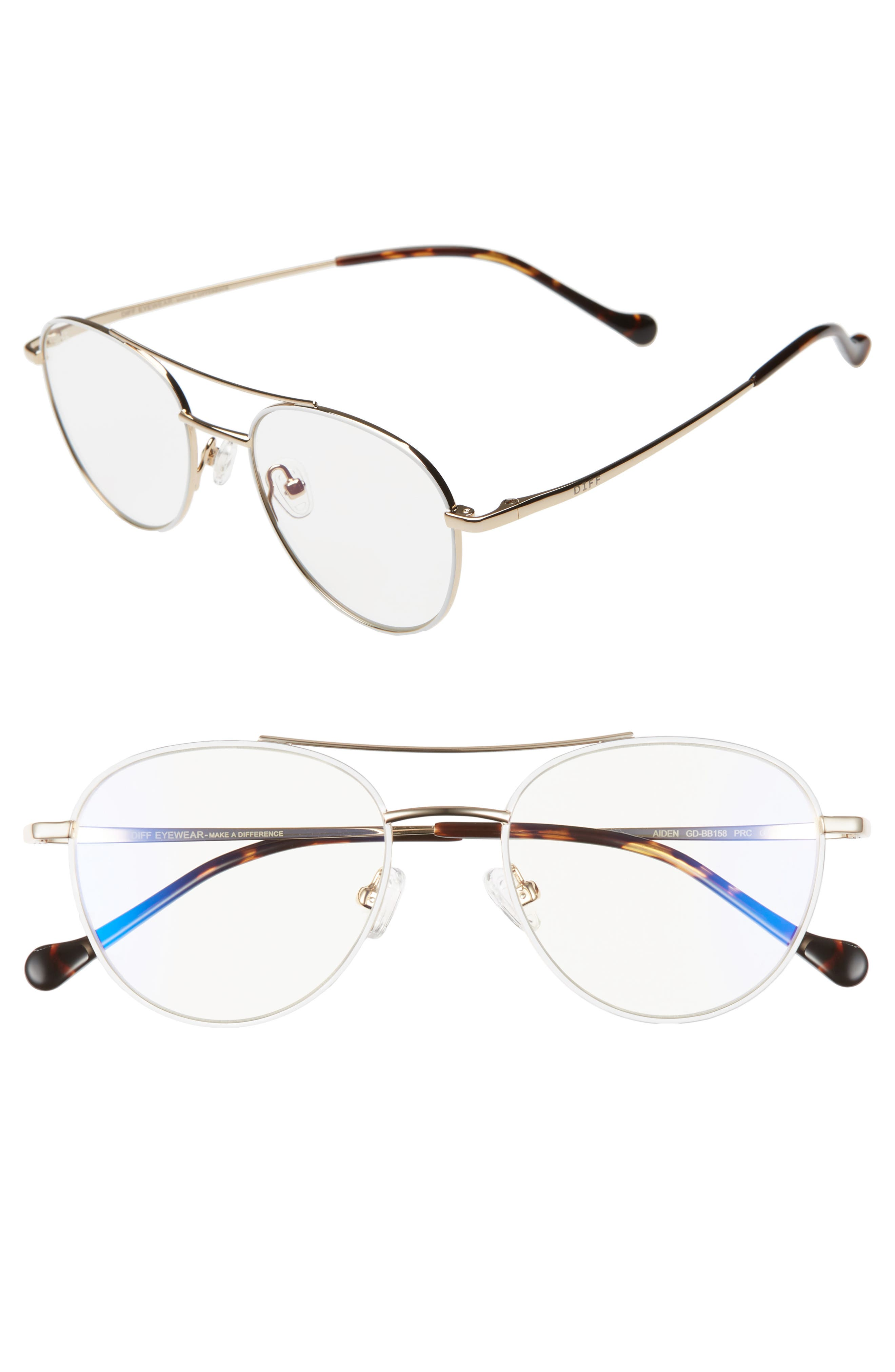 Aiden 50mm Optical Glasses