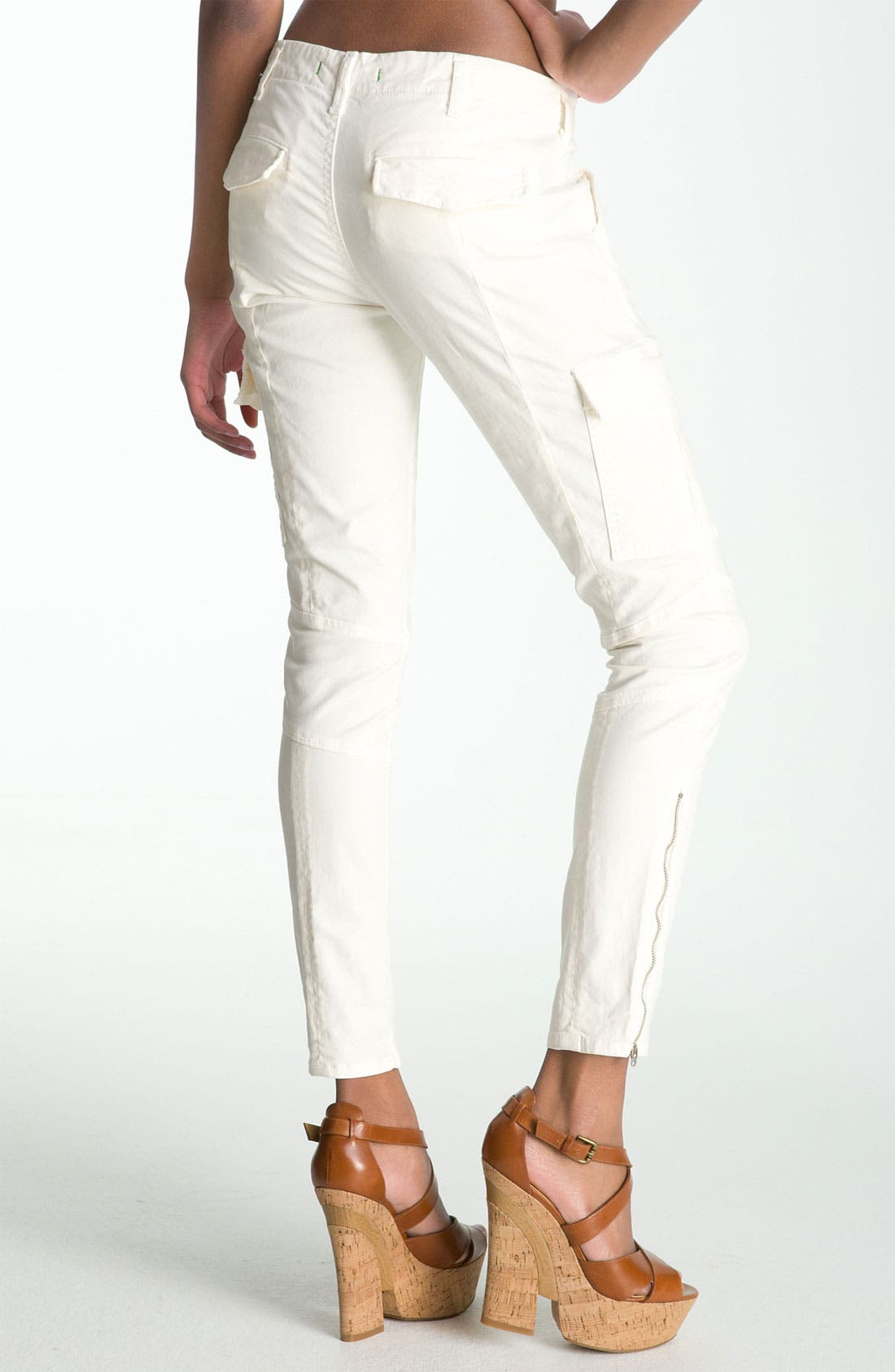 ,                             'Houlihan' Skinny Stretch Cotton Cargo Pants,                             Alternate thumbnail 5, color,                             104