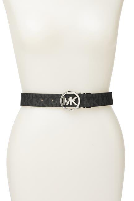 Image of Michael Kors Reversible Logo Belt