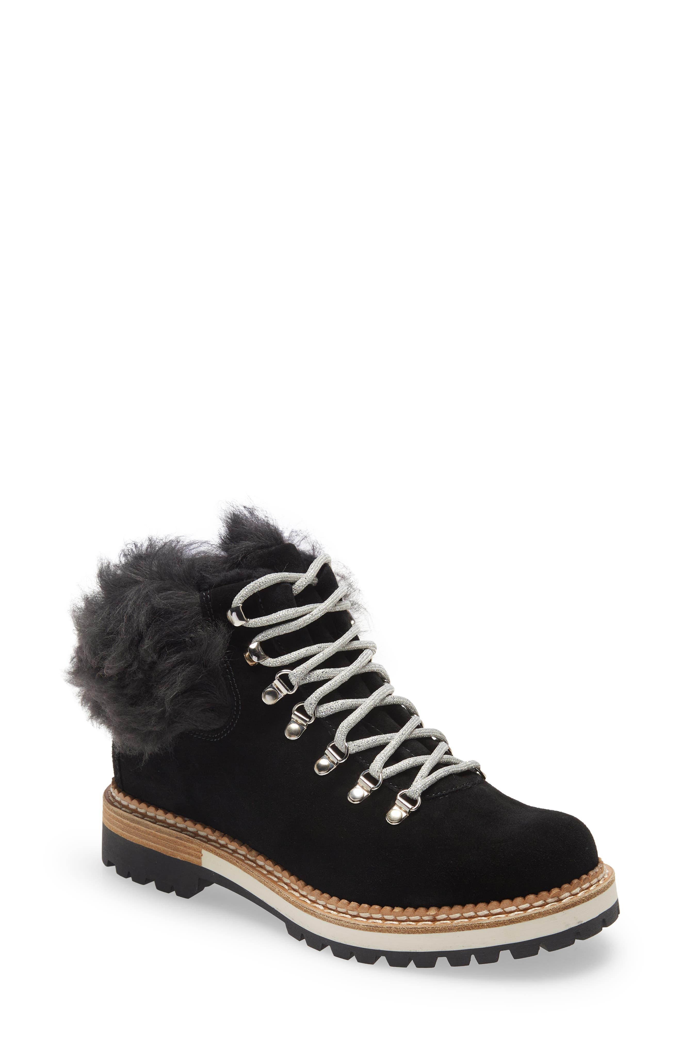 Clara Genuine Shearling Boot