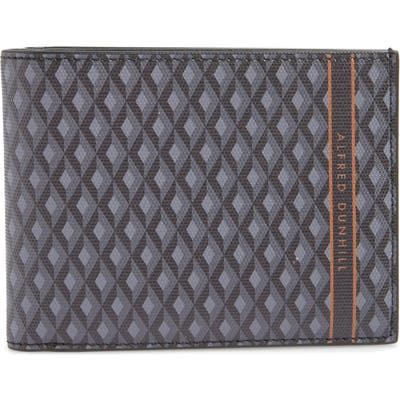 Dunhill Luggage Canvas Billfold Wallet - Grey