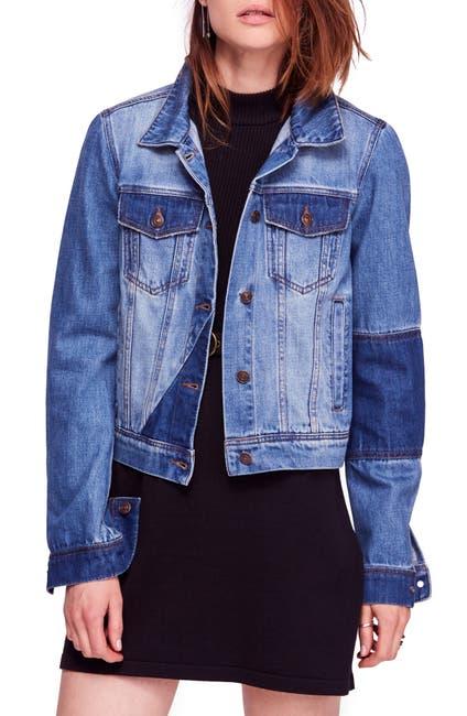 Image of Free People Rumors Denim Jacket