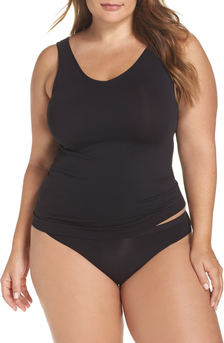 HALOGEN<SUP>®</SUP> Seamless Two-Way Tank, Main, color, BLACK