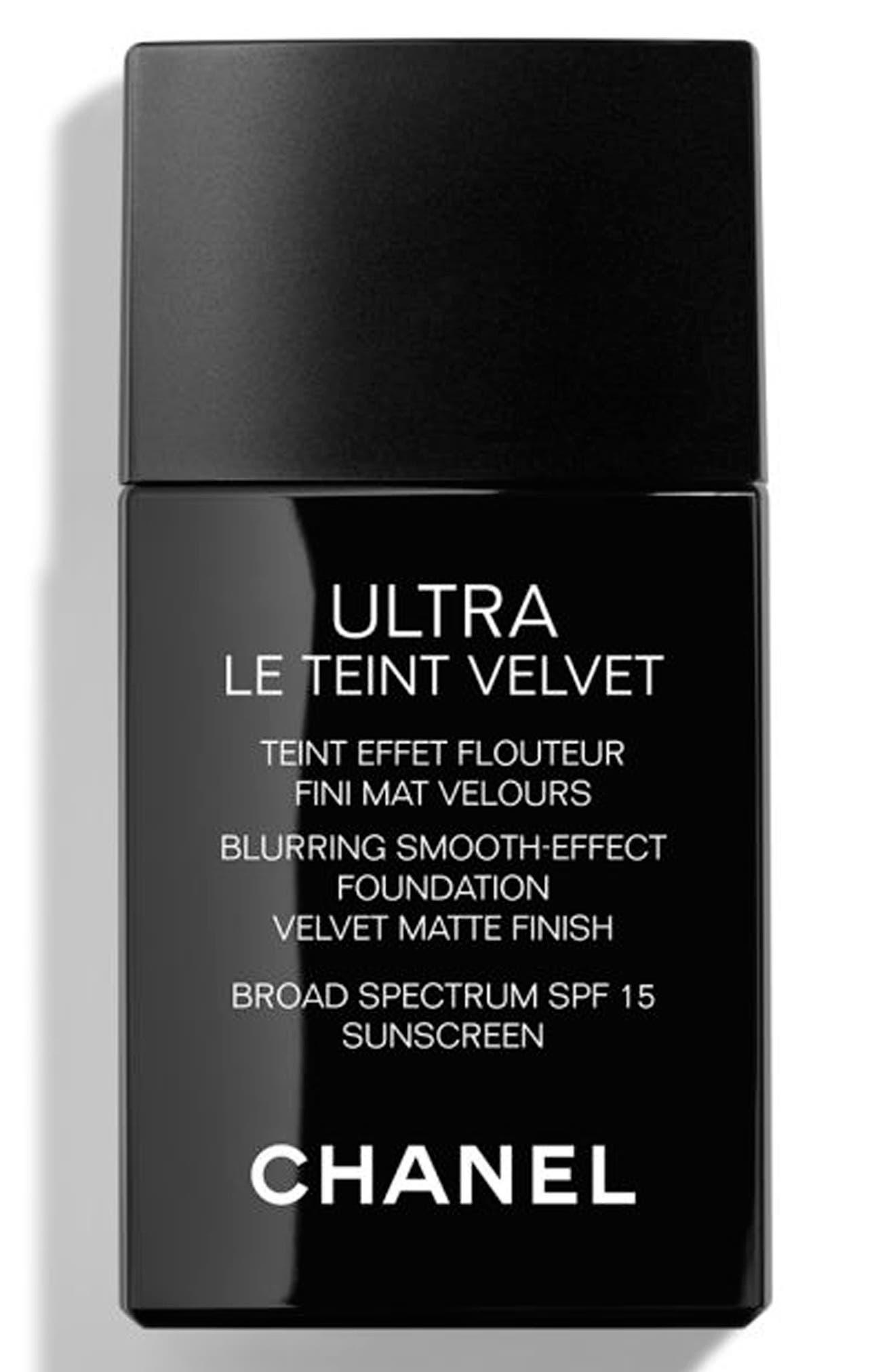 CHANEL ULTRA LE TEINT Velvet Blurring Smooth-Effect Foundation SPF 15   Nordstrom
