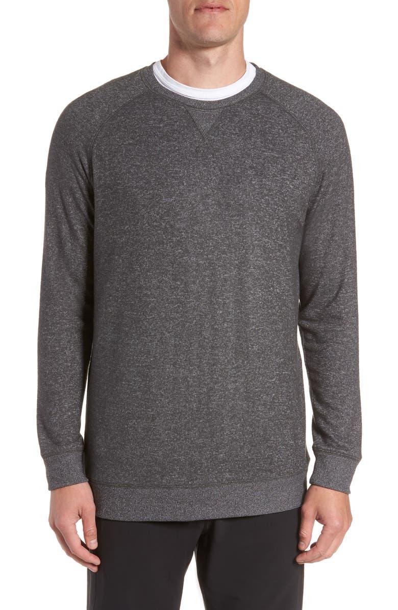 JOE'S Crewneck Sweatshirt, Main, color, H.CHAR