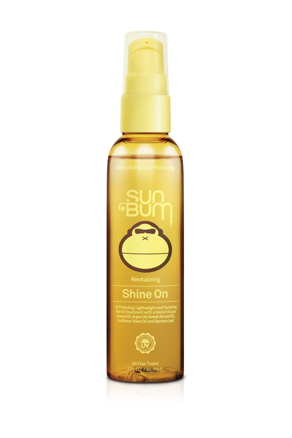Image of Sun Bum Revitalizing Hair 'Shine On' Coconut & Argan Oil - 3 oz.