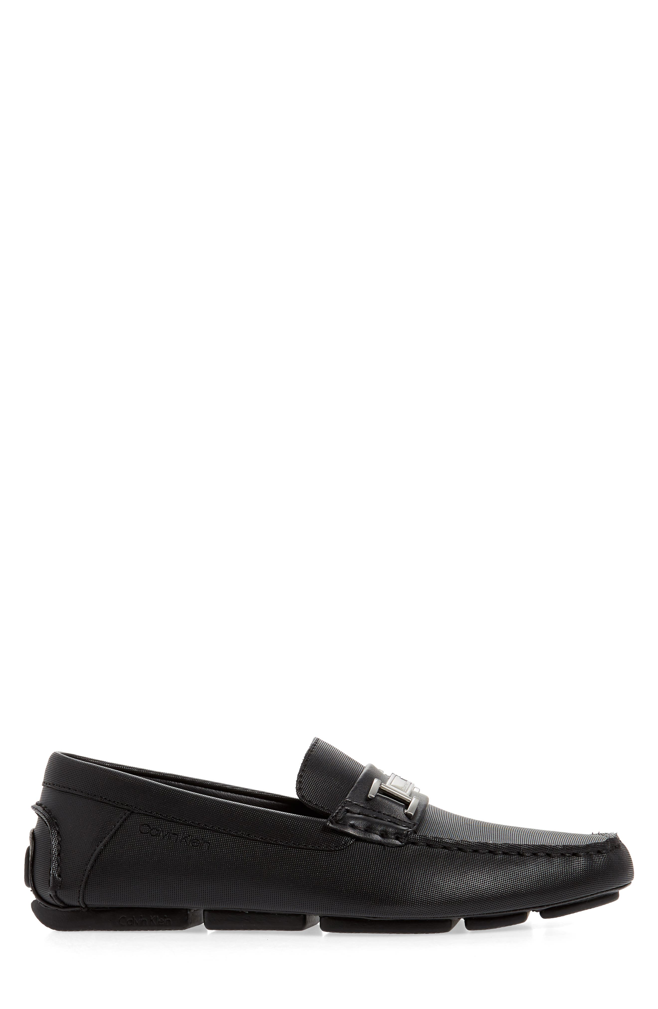 ,                             Magnus Driving Shoe,                             Alternate thumbnail 3, color,                             BLACK LEATHER