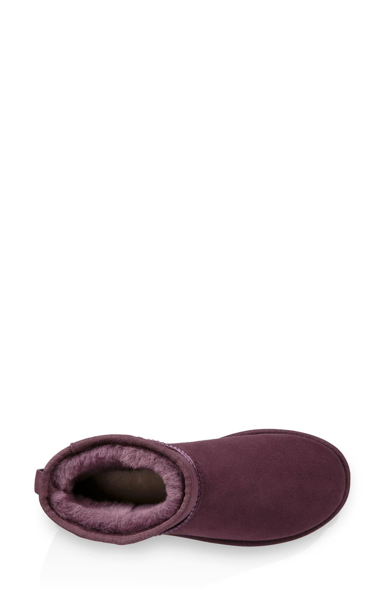,                             Classic Mini II Genuine Shearling Lined Boot,                             Alternate thumbnail 66, color,                             553
