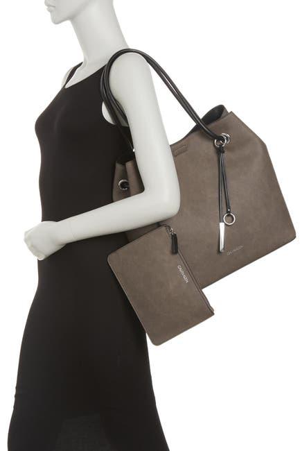 Image of Calvin Klein Gabrianna Bubble Lamb Novelty Bag