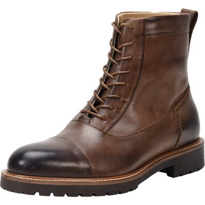 Ross & Snow Cap Toe Weatherproof Boot, Brown