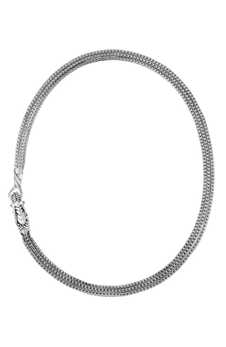 JOHN HARDY Legends Naga Multichain Necklace, Main, color, 040