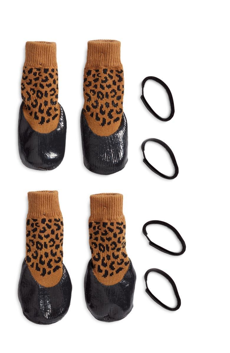 LOVETHYBEAST Rubber Dipped Dog Socks, Main, color, 200