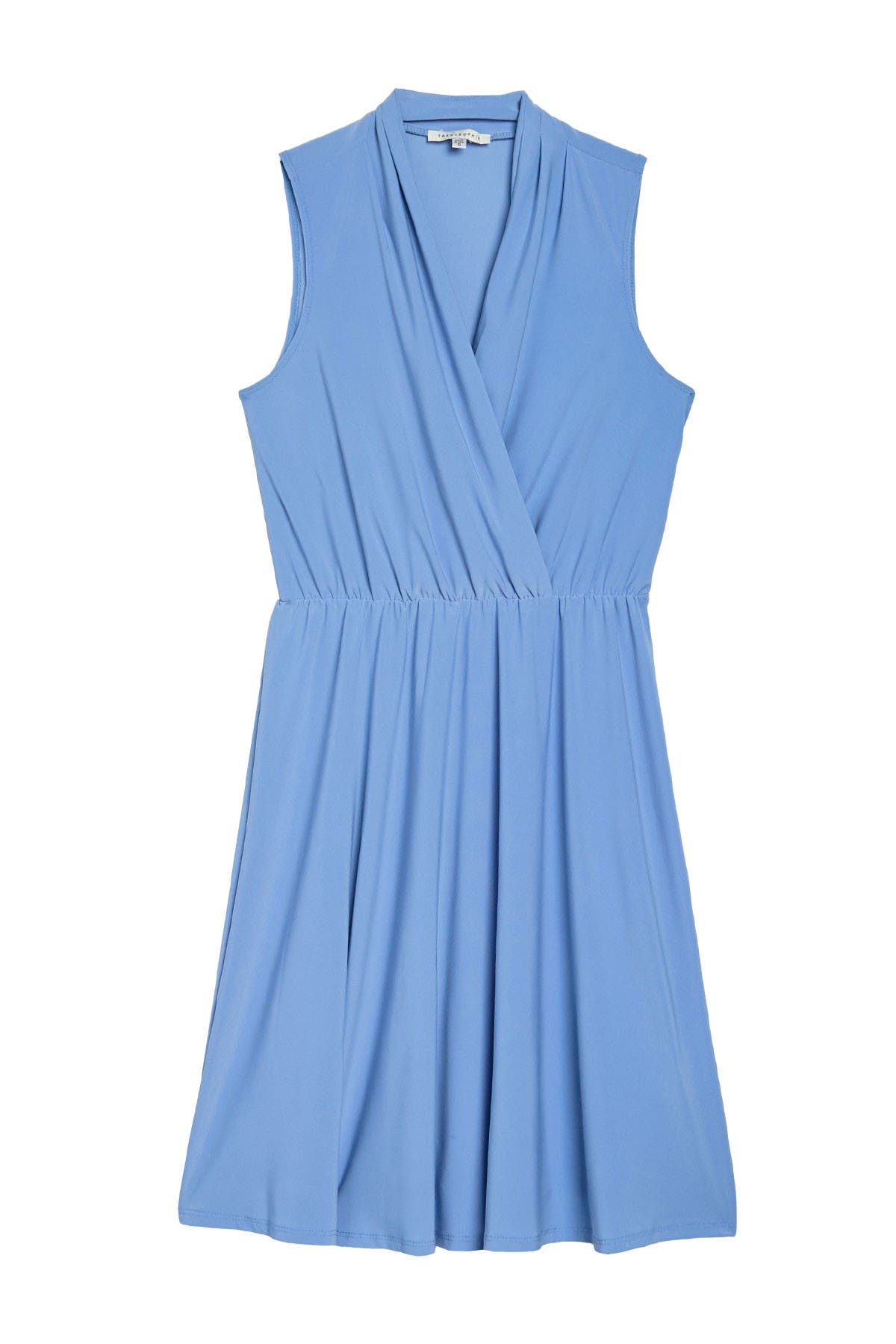 Image of TASH + SOPHIE Surplice Sleeveless Dress