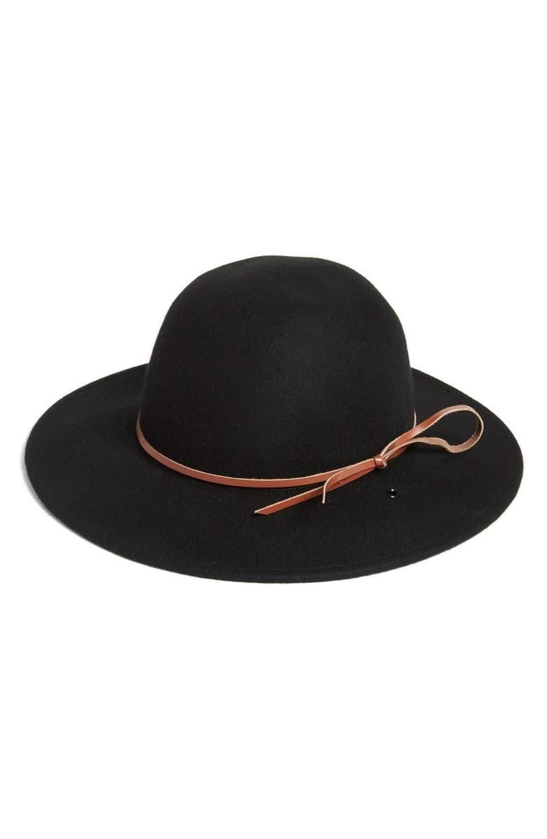 RHYTHM 'Suffolk' Wool Felt Hat, Main, color, 001