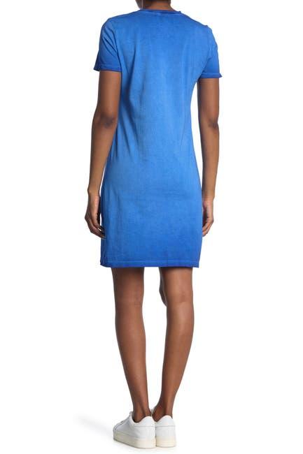 Image of Calvin Klein Washed T-Shirt Dress