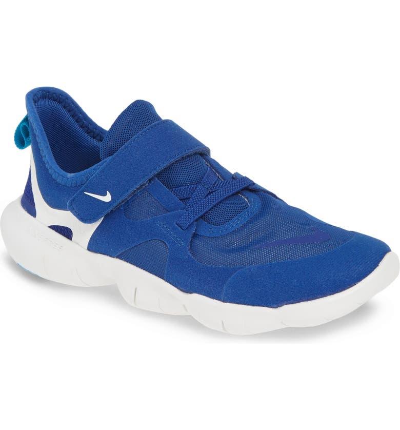 NIKE Free Run 5.0 Sneaker, Main, color, INDIGO/ ROYAL BLUE-WHITE-BLUE