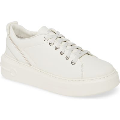 Salvatore Ferragamo Platform Sneaker C - White