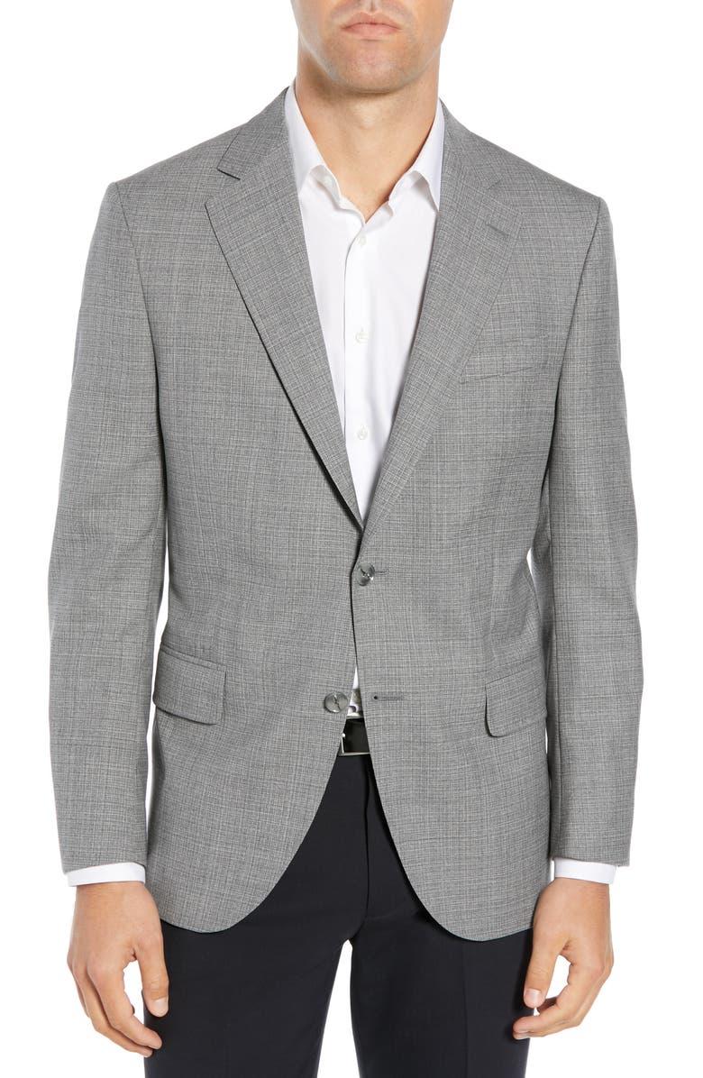 PETER MILLAR Classic Fit Sport Coat, Main, color, 020