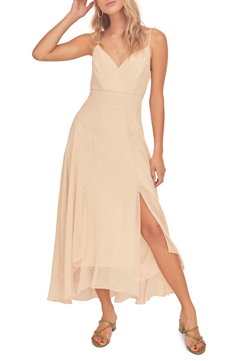 ASTR THE LABEL Lyric Sleeveless Maxi Dress, Main, color, BUTTERMILK