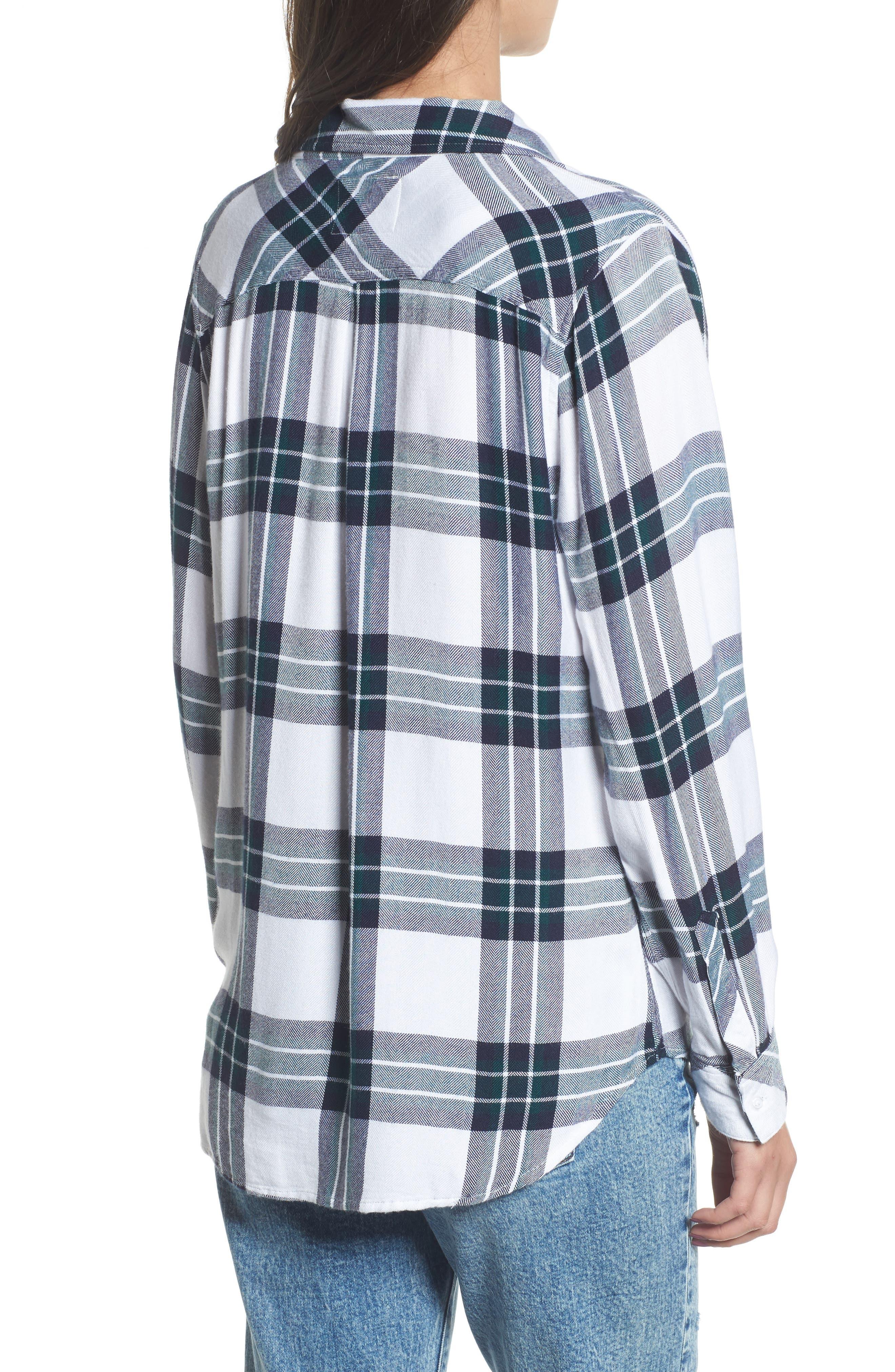 ,                             Hunter Plaid Shirt,                             Alternate thumbnail 649, color,                             162