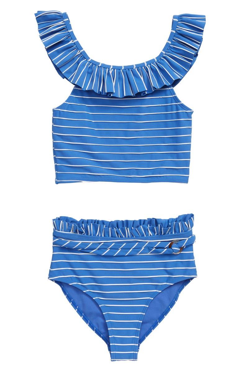 HABITUAL Two-Piece Swimsuit, Main, color, BLUE