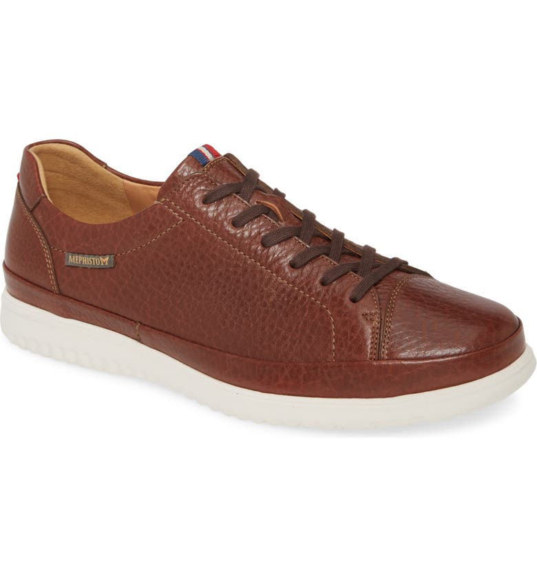 MEPHISTO Thomas Sneaker, Main, color, HAZELNUT
