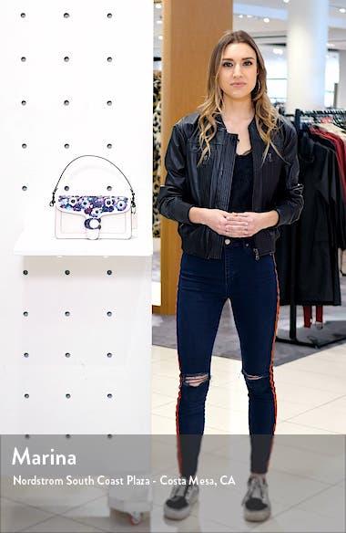 Tabby Appliqué Leather Crossbody Bag, sales video thumbnail