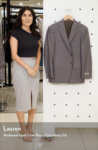 Sienna Classic Fit Plaid Wool Sport Coat, sales video thumbnail